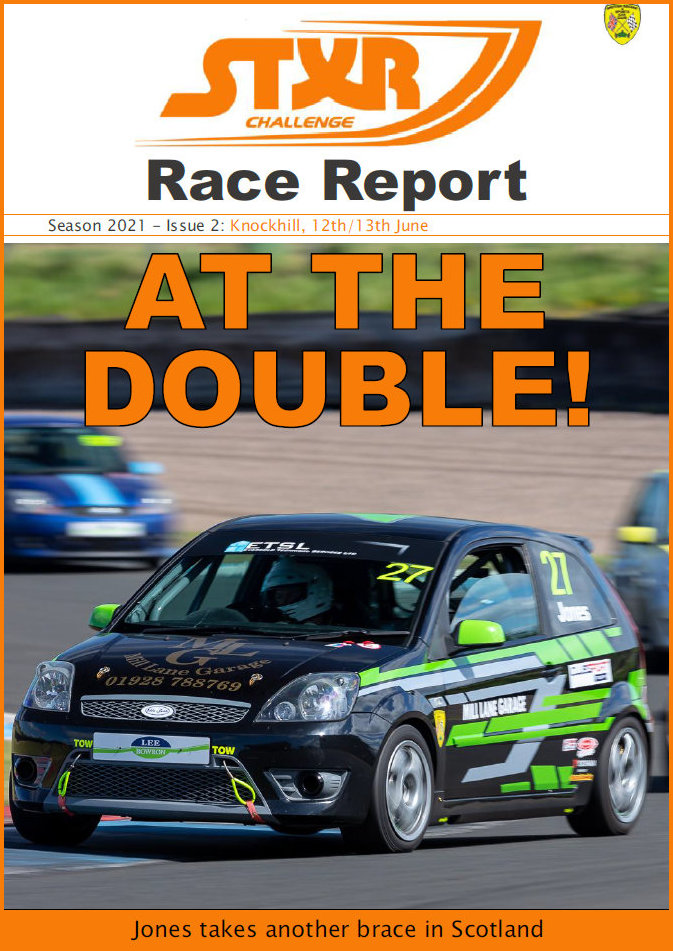 Cover page of the Knockhill meeting report